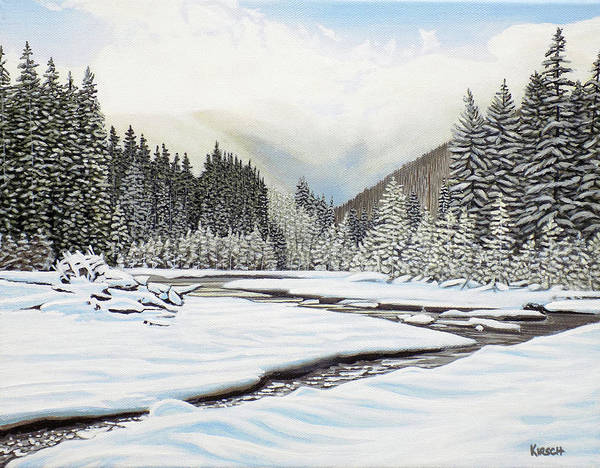 Painting - Winterland by Kenneth M Kirsch