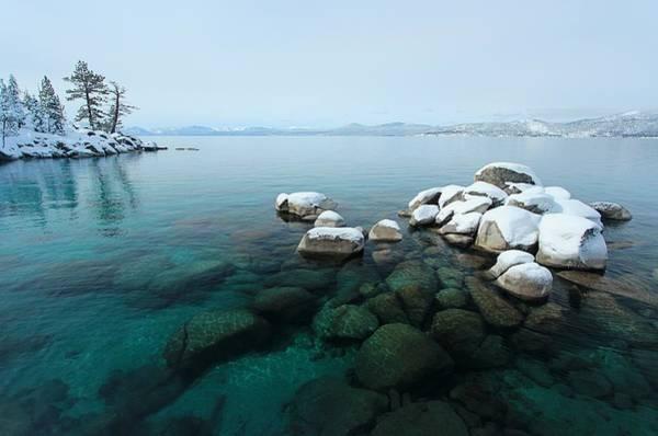 Photograph - Winter's Eye by Sean Sarsfield