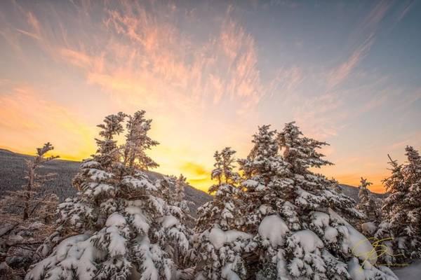 Photograph - Winter's Last Light, by Jeff Sinon