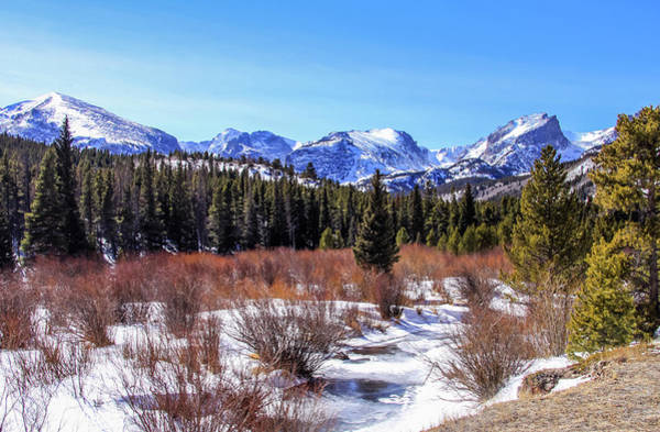 Photograph - Winter's Peace At Rocky Mountains by Dawn Richards