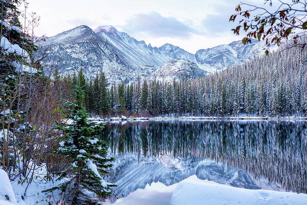 Wall Art - Photograph - Winter's Prelude by Eric Glaser