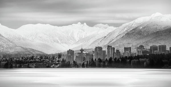 Photograph - Winterscape Vancouver by Juan Contreras