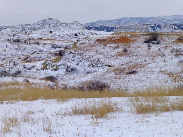 Photograph - Wintery West Dakota by Cris Fulton
