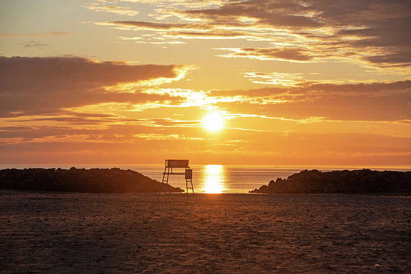 Photograph - Winthrop Beach Winthrop Shore Reservation Sunrise Winthrop Ma by Toby McGuire