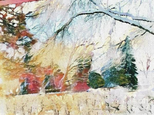 Digital Art - Wintry Day by Kathie Chicoine