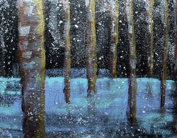 Painting - Wintry Scene I by Jason Nicholas