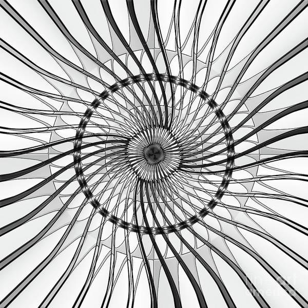 Wall Art - Digital Art - Wire Frame by Gaspar Avila