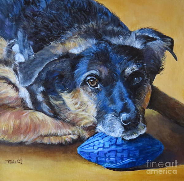 Painting - Wishful Luke by Marilyn McNish