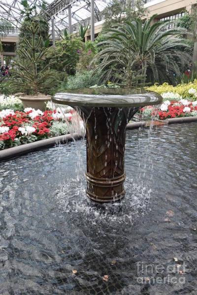 Photograph - Wishing Well Fountain  by Susan Carella