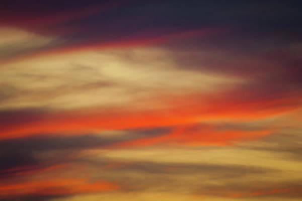 Photograph - Wispy Sunset by Jeff Phillippi
