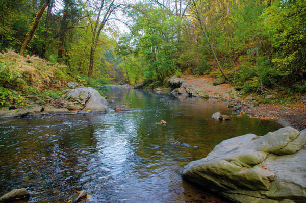 Photograph - Wissahickon Valley - Autumn by Bill Cannon