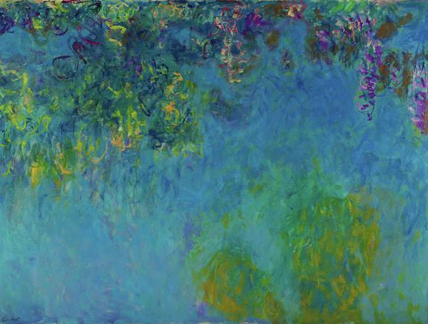 Wall Art - Painting - Wisteria - Digital Remastered Edition by Claude Monet