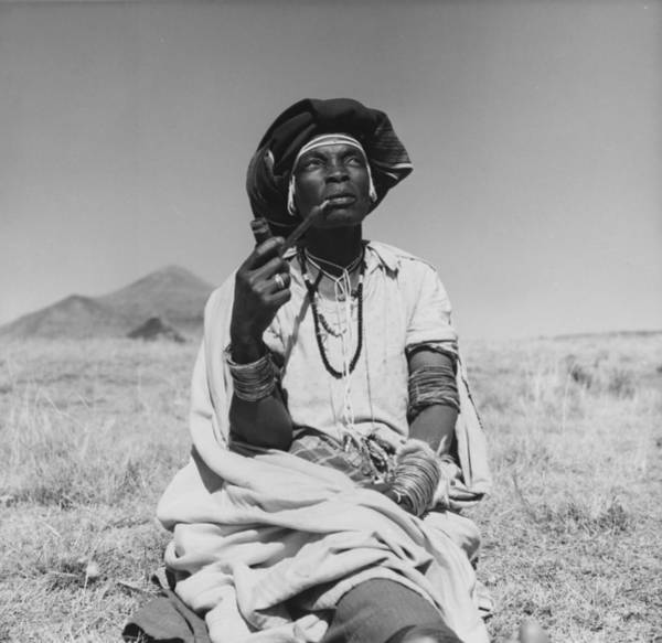 1961 Photograph - Witch Doctor by Ron Stone