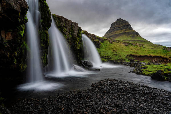 Photograph - Witches Hat Falls II by Tom Singleton