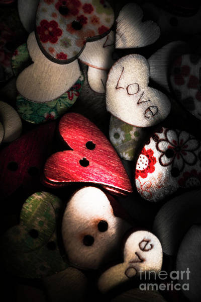 Dark Background Photograph - With Sentiment In The Sewing Box by Jorgo Photography - Wall Art Gallery