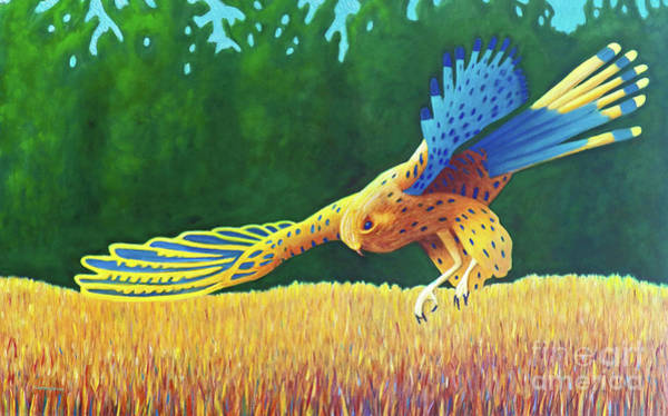 Wall Art - Painting - With These Wings by Brian Commerford