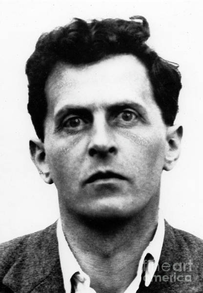 Wall Art - Photograph - Wittgenstein, Black And White Photo by English School