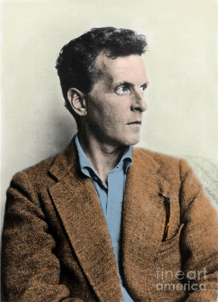 Wall Art - Photograph - Wittgenstein by English School