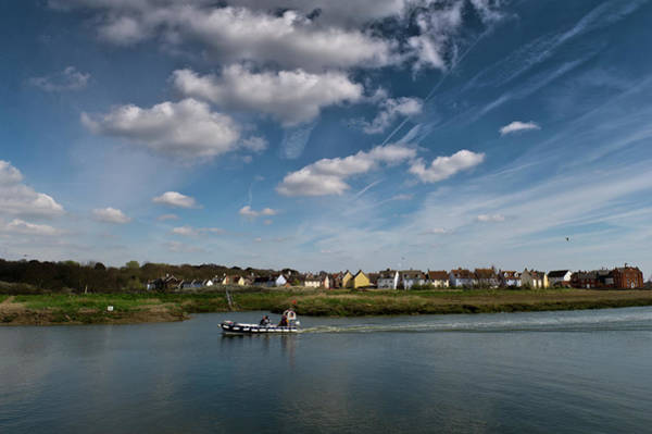 Photograph - Wivenhoe Rowhedge Ferry by Gary Eason
