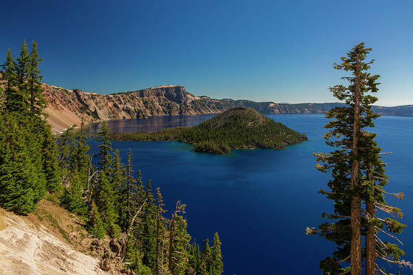 Photograph - Wizard Island by ProPeak Photography