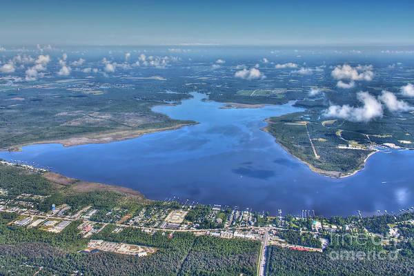 Photograph - Wolf Bay Alabama by Gulf Coast Aerials