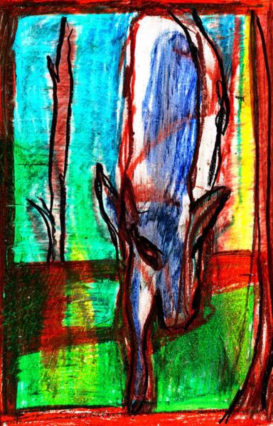 Digital Art - Wolf Digitally Altered 1 by Artist Dot
