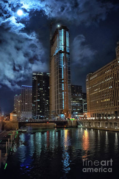 Wall Art - Photograph - Wolf Point East Tower Chicago by Bruno Passigatti