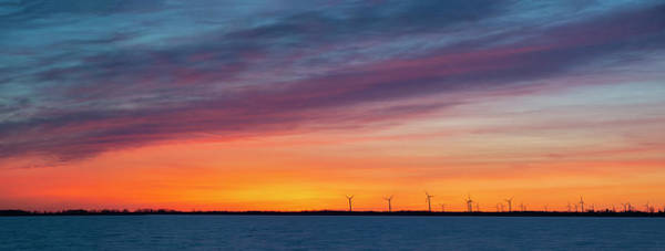 Photograph - Wolfe Island Sunset by Mark Papke