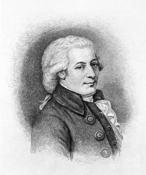 Photograph - Wolfgang Amadeus Mozart by Tischbein