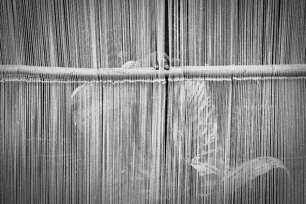 Photograph - Woman Behind The Loom by Stuart Litoff