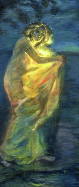 Wall Art - Painting - Woman Clothed With The Sun, 1904 by Alice Pike Barney