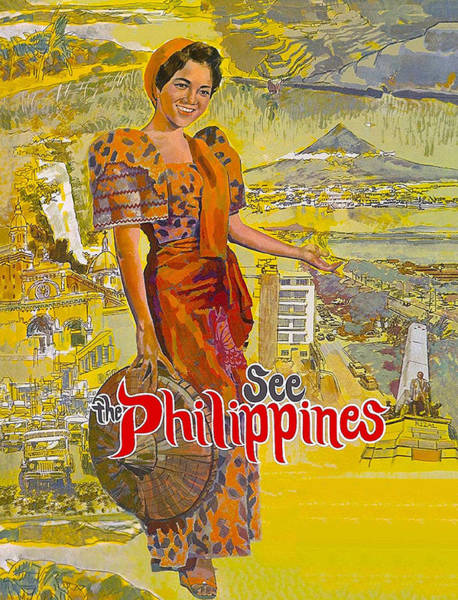 Wall Art - Digital Art - Woman From Philippines by Long Shot