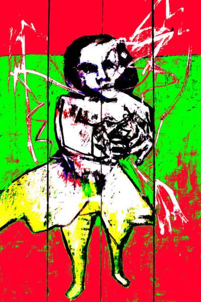 Digital Art - Woman In A See Through Dress 2 by Artist Dot