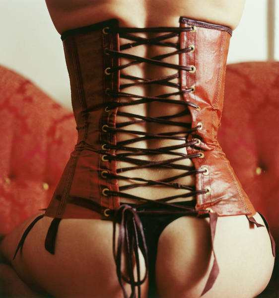Buttocks Photograph - Woman In Corset by Loretta Ray