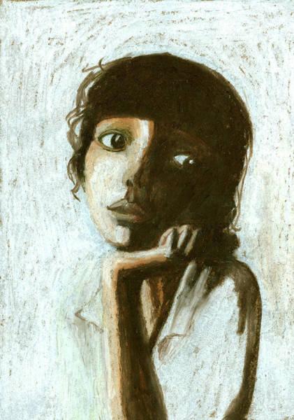 Bangs Digital Art - Woman by Jenny Meilihove