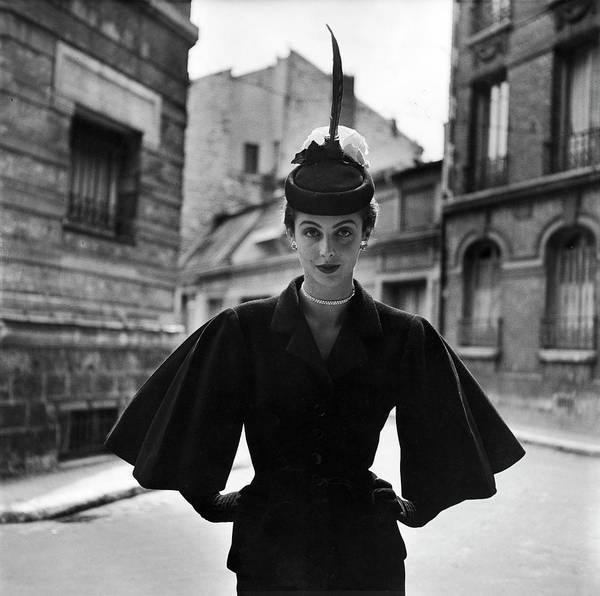 Photograph - Woman Modeling A Full Sleeved Suit by Gordon Parks