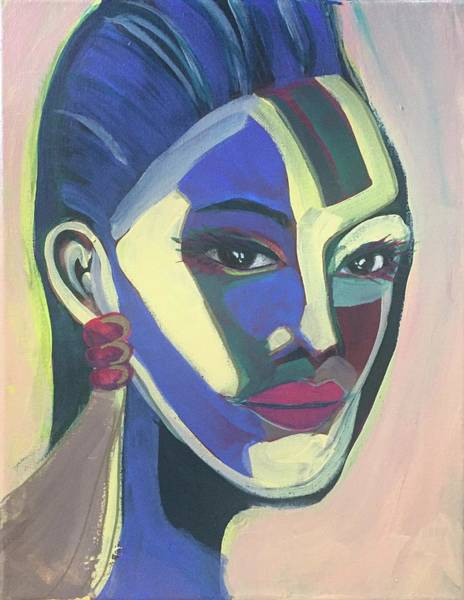 Painting - Woman Of Color by Cherylene Henderson