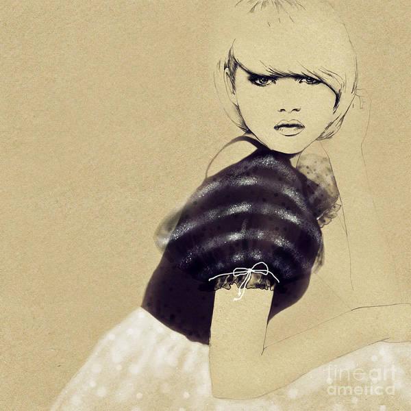 Wall Art - Digital Art - Woman Portrait by Anna Ismagilova