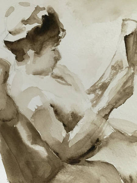Painting - Woman Reading by Linda Anderson