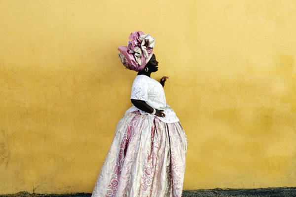 Photograph - Woman Wearing Traditional Brazilian by Buena Vista Images