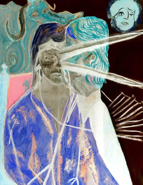 Digital Art - Woman With A Beak by Artist Dot