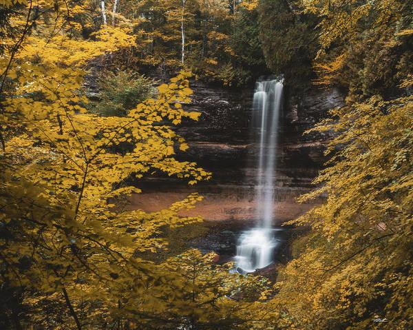 Photograph - Wonder Autumn Waterfall by Tailor Hartman