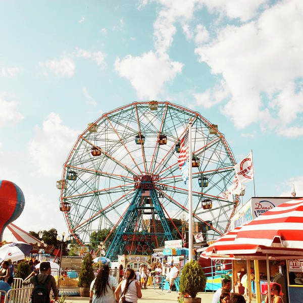 Photograph - Wonder Wheel by Am2photo