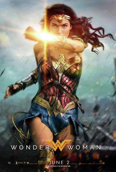 Supervillain Digital Art - Wonder Woman Poster by Geek N Rock