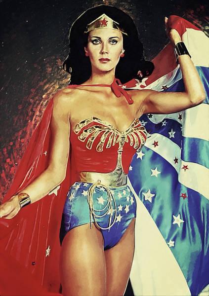 Wall Art - Digital Art - Wonder Woman by Zapista Zapista