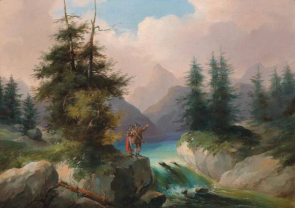 Wall Art - Painting - Wonderful View  By Gustav Barbarini by Gustav Barbarini