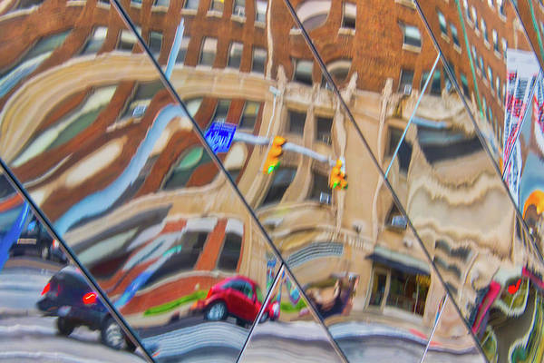Photograph - Wonky Refelctions by Stewart Helberg
