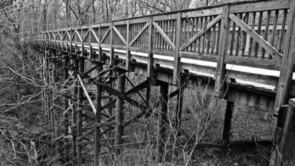Wall Art - Photograph - Wood Bridge #1 by Photography by Tiwago