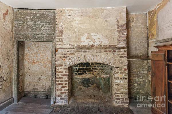 Photograph - Wood Fireplace - Aiken Rhett House by Dale Powell
