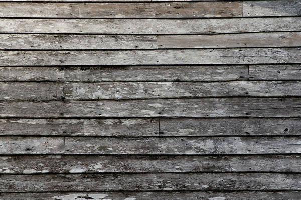 Hardwood Photograph - Wood Plank Background by Primeimages
